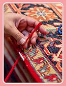 خدمات قالیشویی سفید برفی شیرازه دوزی فرش