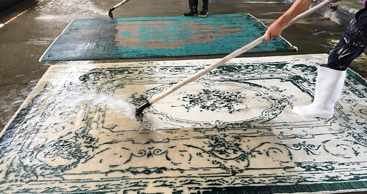 کارخانه بزرگ قالیشویی صحت