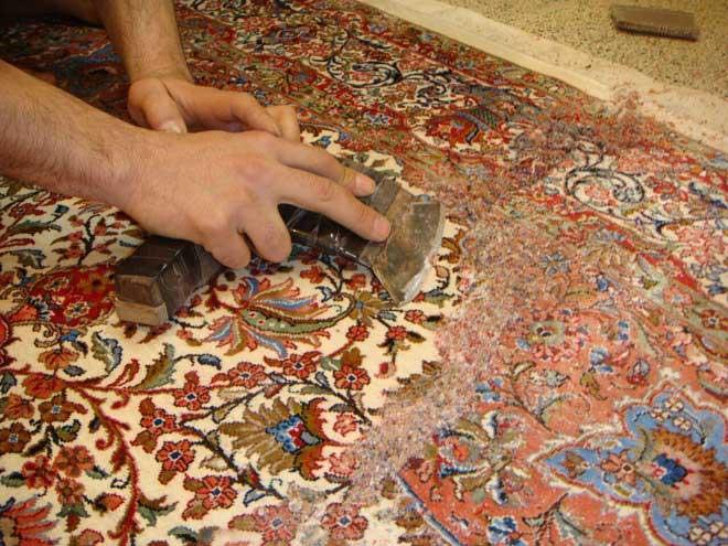 کارخانه قالیشویی میهن تهران