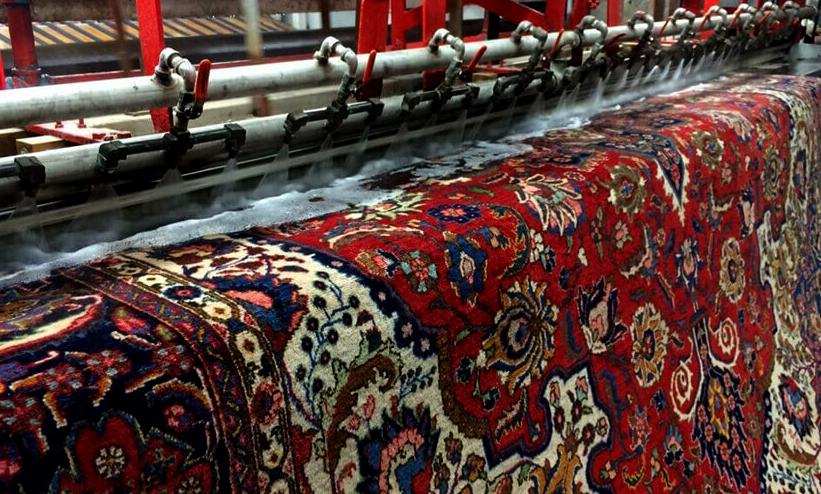 کارخانه قالیشویی جوان تهران