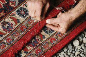 کارخانه قالیشویی باختر سعادت آباد ارائه دهنده کلیه خدمات ترمیم و رفوگری فرش