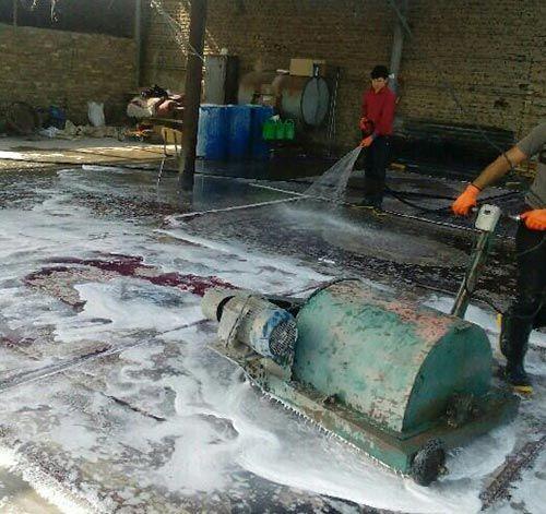 قالیشویی و رفوگری مروستی ارائه دهنده کلیه خدمات شستشو و ترمیم فرش