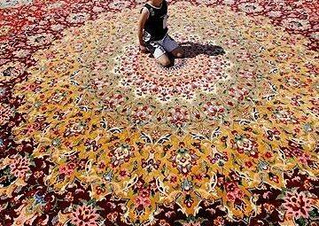 روشهای رنگبرداری از فرش دستبافت