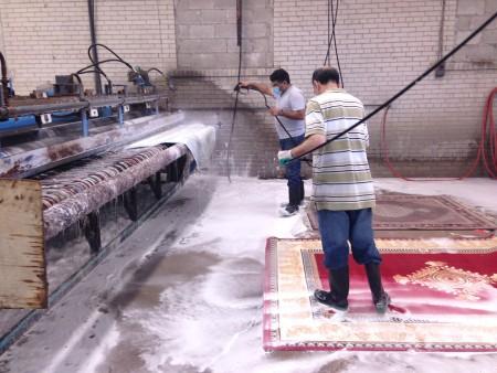 کارخانه قالیشویی بهروزیان مشهد