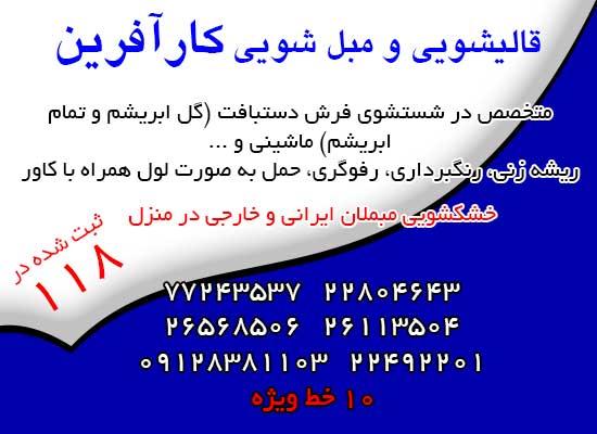 سرویس سراسر تهران