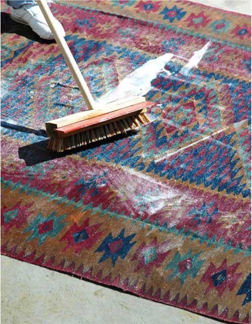 شستشوی فرشها در قالیشویی