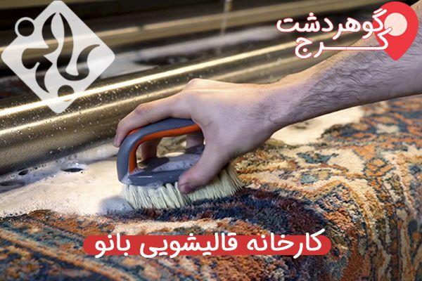 قالیشویی در گوهرشدت