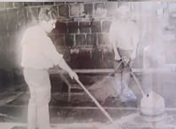 تاریخچه قالیشویی