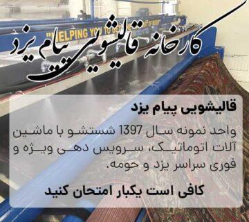 قالیشویی پیام یزد بهترین قالیشویی یزد