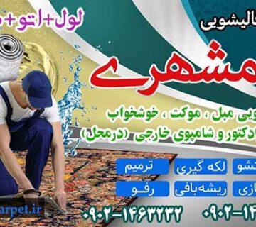 قالیشویی همشهری شهریار مارلیک