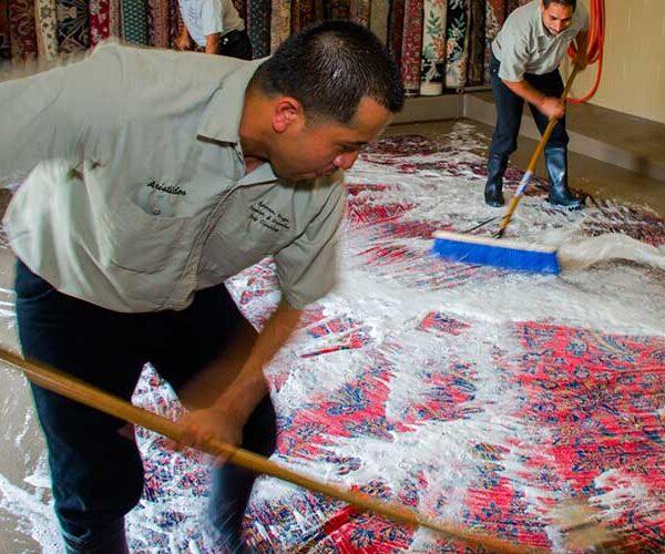قالیشویی غرب مشهد