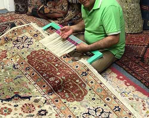 قالیشویی خوب گوهرشاد مشهد