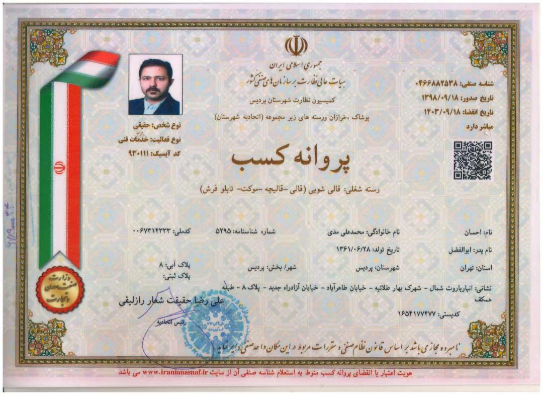 کارخانه قالیشویی ایرانیان