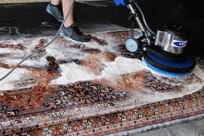 رفع کامل آلودگی فرشها