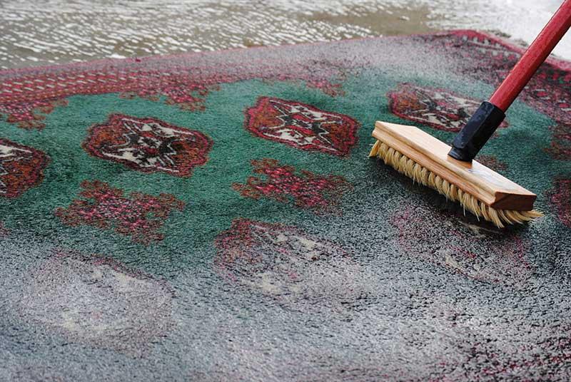 عدم آسیب فرش در قالیشوییهای معتبر
