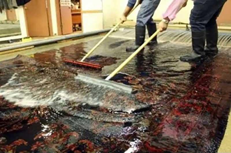 تاثیر شستشوی فرش در از بین بردن ویروس کرونا