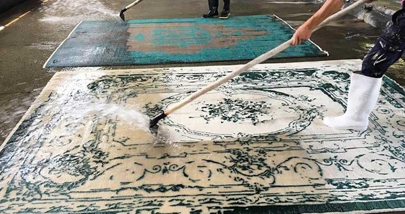 بهترین فصل سپردن فرش به قالیشویی کرج