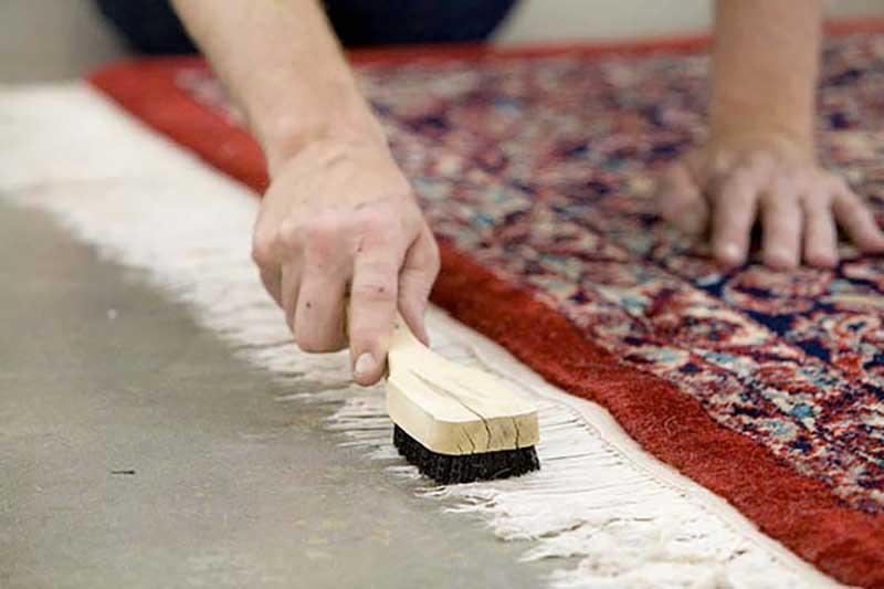 قالیشویی در فلاح