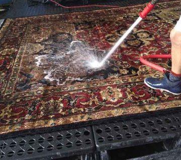 قالیشویی در هاشمی