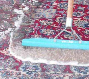 قالیشویی در خیابان کارگر