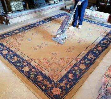 قالیشویی در مهرآباد